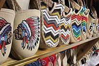 纯手工的布鞋