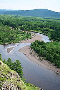 根河源头森林