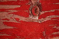 红色木板背景