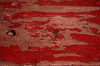 红色木板漆皮痕迹图片
