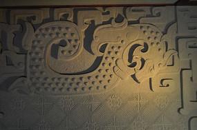 龙的图案壁画