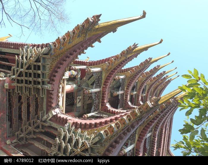 故宫 寺庙 旅游景点 人文景观 古代建筑 旅游摄影 装饰画 植物装饰画