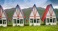 草原小房子原图