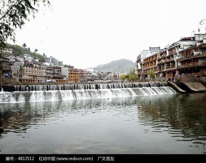 凤凰古城古建筑特写图片图片