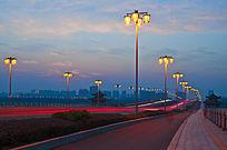 广陵大桥夜景