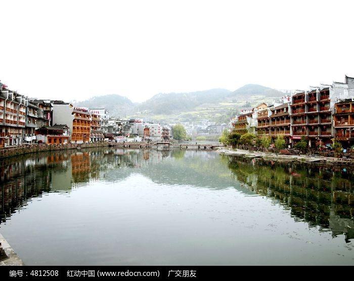 湖南凤凰古城古建筑特写图片图片