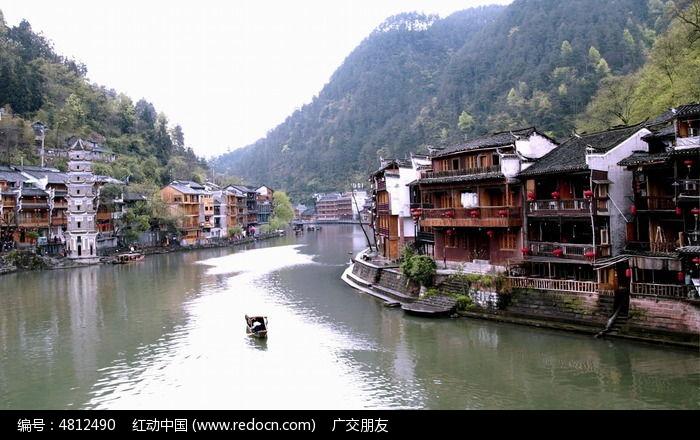湘西凤凰古城古建筑图片