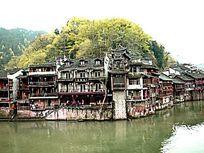 湘西凤凰古城古建筑图