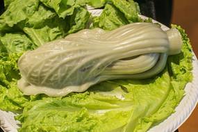 新鲜大白菜