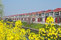 扬州邗江区汊河镇的新农村民居