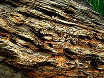 岩石的肌理纹路