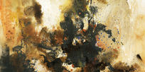 抽象油画抽象画