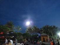 大梅沙的夜晚