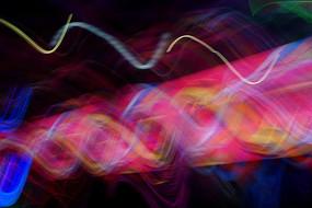 电子光线背景