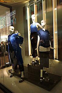 服装模特展示