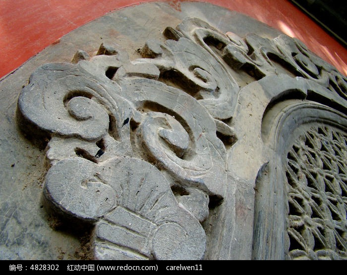 古代吉祥图案雕刻图片