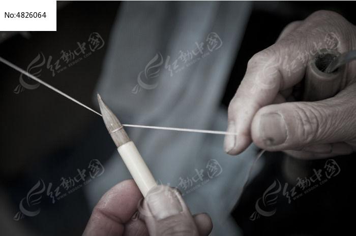 毛笔制作工艺干作