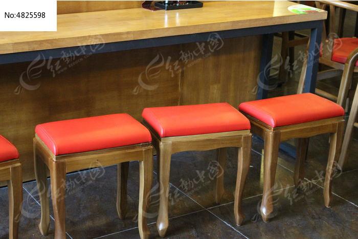 餐厅新中式凳子高清图片下载(编号4825598)_红动网