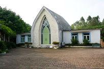 教堂建筑风景