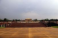 金水桥远观丹凤门