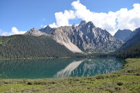 蓝色宝石措普湖