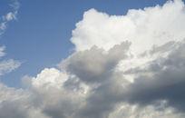 蓝天白云摄影图下载