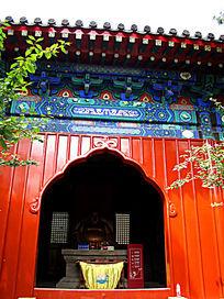 弥勒佛大殿的正面