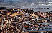 木板碎屑底纹