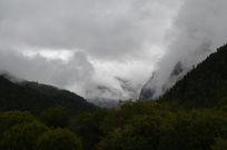 神秘的雪山