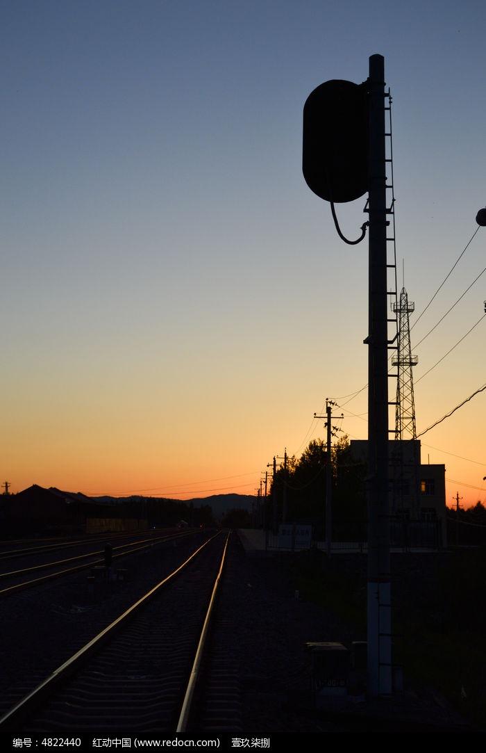 铁路信号灯图片,高清大图_运输物流素材