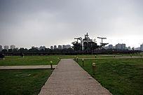 远观紫宸殿遗址