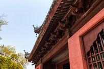 古建筑屋檐结构