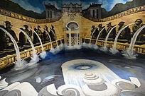 3D梦幻水世界城堡