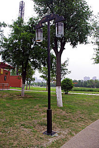 公园内路灯