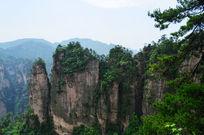 张家界怪石奇峰景色