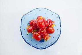 凉拌小番茄