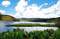 普达措里的属都湖