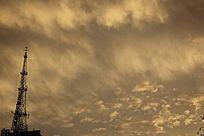 潮汐云图片