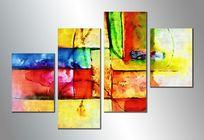 抽象油画 无框画 抽象画