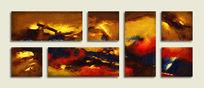 简约抽象油画