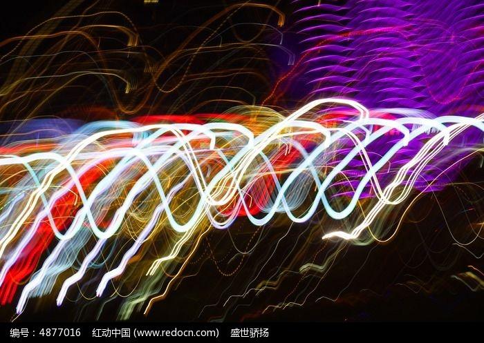 流动色彩光线图片