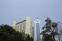青岛的高楼大厦