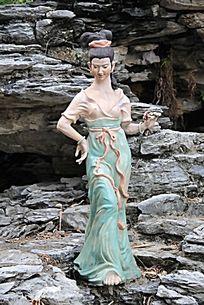 仙女雕塑作品