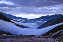 西部高原的云海