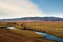 新疆草原的秋天