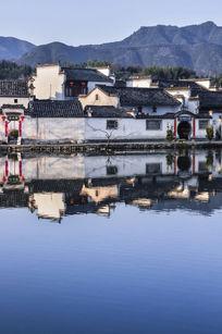 安徽宏村的古建筑群