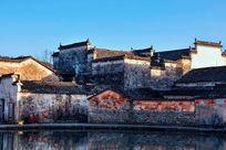 安徽宏村的明清建筑