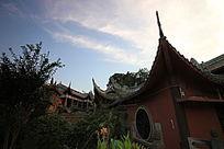 成都寺庙一角摄影
