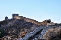 古老的长城城墙
