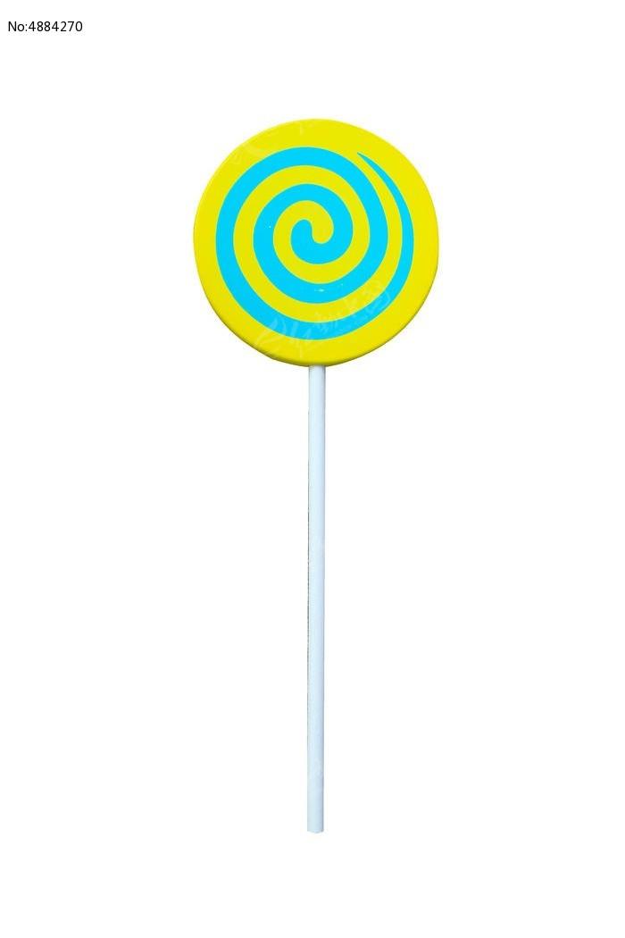 黄色蓝色棒棒糖图片